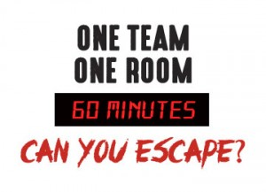 One team, one room, 60 minutes... Can you escape?