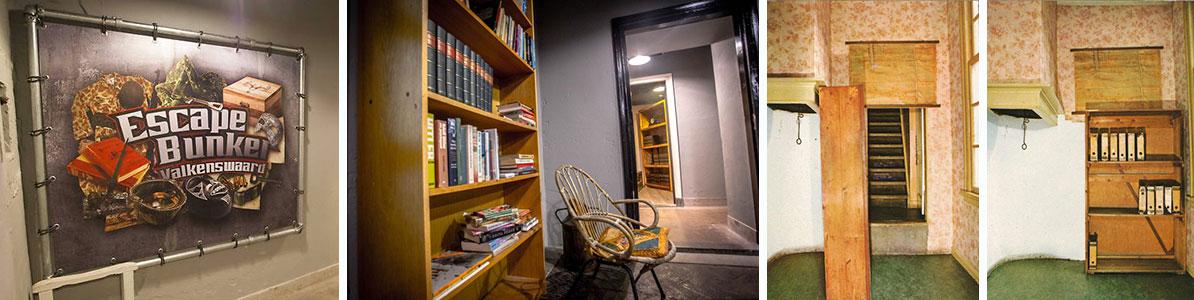 """Fotos del interior de """"Escape Bunker"""""""